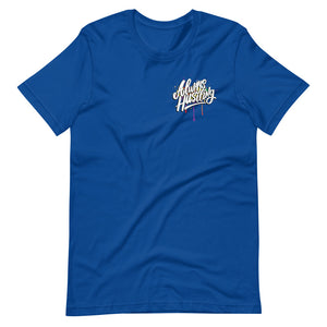 "UPLIFT Men's ""Always Hustling"" Graphic Short Sleeve Tee - UPLIFT Wear - Royal Blue"