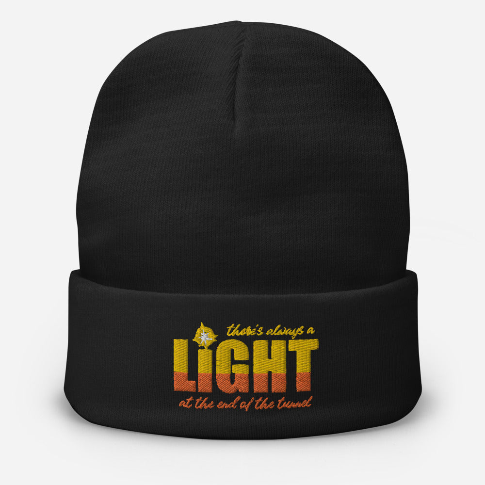"UPLIFT ""There's Always a Light"" Winter Beanie - UPLIFT Wear - Black"