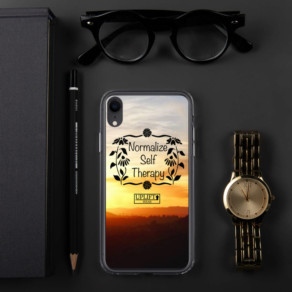 "UPLIFT ""Normalize Self Therapy"" iPhone Case - UPLIFT Wear - iPhone XR"