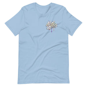 "UPLIFT Men's ""Always Hustling"" Graphic Short Sleeve Tee - UPLIFT Wear - Light Blue"