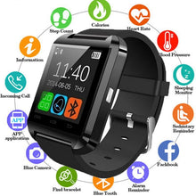 Load image into Gallery viewer, U8 Bluetooth Smart Watch For iPhone IOS, Android