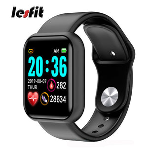 Bluetooth Waterproof Digital Smart Watches Men Women Kids Smart Wristband Clock HR/BP Rate Smartwatch Fitness Tracker