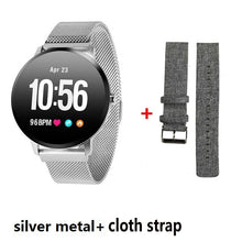 Load image into Gallery viewer, Smart band watch waterproof Tempered glass Activity Fitness tracker Heart rate monitor