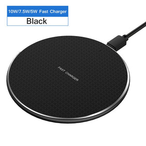 Fast Wireless Charger For iPhone 11 X XS MAX XR and Samsung