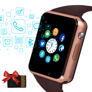 2020 Beaulyn A1 Smart Watch Men For Android Phone Apple Watch Support Sim TF Card 0.3MP Camera Bluetooth Smartwatch Women Kids