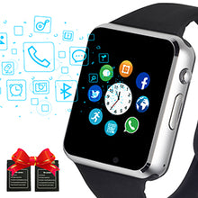 Load image into Gallery viewer, 2020 Beaulyn A1 Smart Watch Men For Android Phone Apple Watch Support Sim TF Card 0.3MP Camera Bluetooth Smartwatch Women Kids