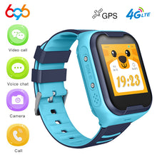 Load image into Gallery viewer, Kids Smart Watch GPS 4G Wifi SIM Card Watch Anti-lost Safe SOS Video Call Bluetooth Camera Watch Q90 DF39Z