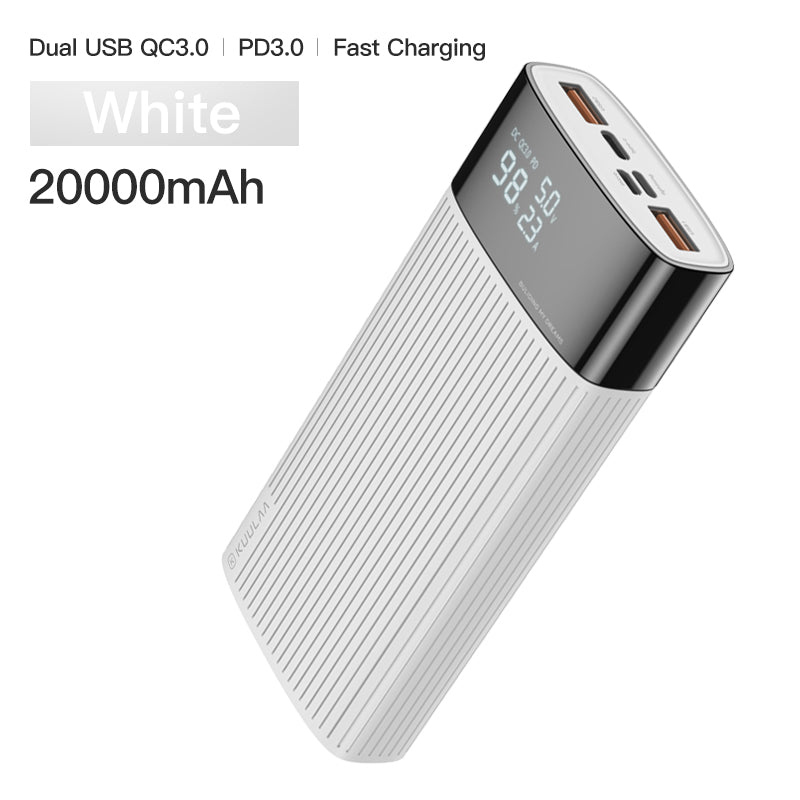 External Power Bank For iPhone Samsung Type C Fast Charging