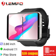 Load image into Gallery viewer, Smart watch Men Women 4G Smartwatch Android 7.1 with 5MP Camera  GPS Fitness Bracelet
