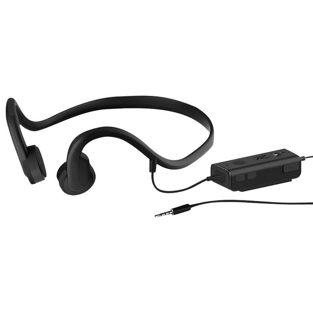 Bluetooth Wired Bone Conduction Head phones Waterproof with mic