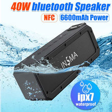 Load image into Gallery viewer, INSMA S400 PLUS 40W bluetooth Speaker Waterproof Outdoor Wireless Loudspeakers
