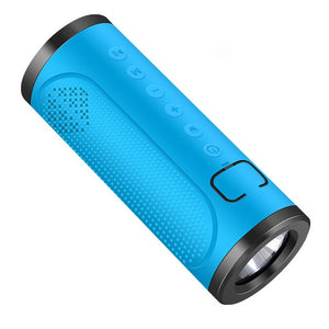 Portable Wireless Bluetooth Speakers Loud Stereo Sound Rich Bass With Light
