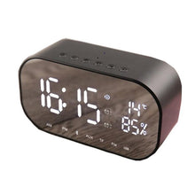 Load image into Gallery viewer, New Wireless Smart FV-S2 Clock Bluetooth Speaker Mirror
