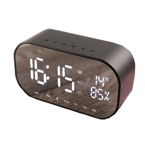 New Wireless Smart FV-S2 Clock Bluetooth Speaker Mirror
