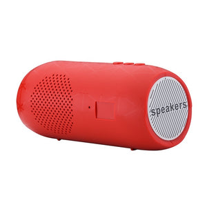 Power Bluetooth Speaker Case Portable Wireless Stereo SD Card FM USB Rechargeable For Smartphone Tablet