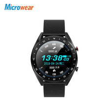 Load image into Gallery viewer, L7 Microwear Smart Watch Blood Pressure/Bluetooth/GPS/Sleep monitor Smart Watch Fitness Men Women Smartwatch