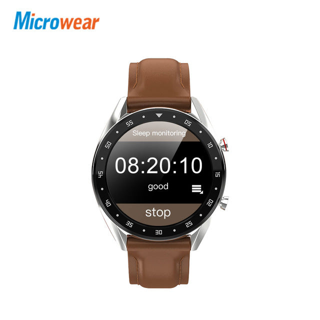 L7 Microwear Smart Watch Blood Pressure/Bluetooth/GPS/Sleep monitor Smart Watch Fitness Men Women Smartwatch