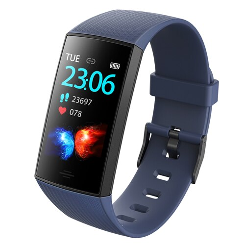 Waterproof Sport Smartwatch  with Blood Pressure Heart Rate Monitor
