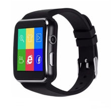Load image into Gallery viewer, X6 Smart Watch Men Support SIM TF Card With Camera Phone Color Screen Bracelet Sports Step Monitoring Bluetooth Smartwatch