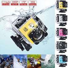 "Load image into Gallery viewer, SJ4000 1080p 30FPS Action Camera Full HD Allwinner 4K WIFI 2.0"" Screen Mini Helmet 30m Waterproof Sports DV Camera"