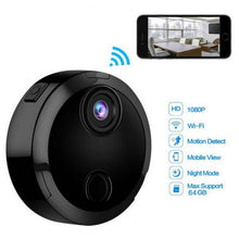 Load image into Gallery viewer, Mini HD 1080P Wireless Wifi Security Camera Support AP P2P and IP connection For Phone/PC WIFi Night Vision Infrared Camera