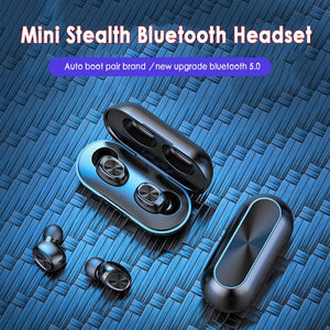 Earbuds Sport Bluetooth with Charging Box Low power consumption