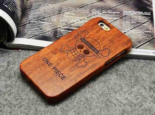 Load image into Gallery viewer, Wooden Phone Case 100% Handmade Natural Real Wood Bamboo Hard Cover for Apple iPhone X XR XS MAX 8 7 Plus 6 6S Plus 5S SE