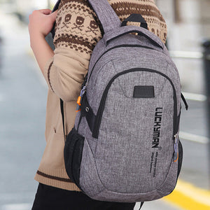 Fashion Causal Waterproof Backpack canvas Travel bag Backpacks Unisex laptop bags Designer student bag Mochila Masculina #YL5