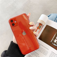 Load image into Gallery viewer, Camera Protection Transparent Phone Case For iPhone 11 11Pro Max XR XS Max X 7 8 Plus
