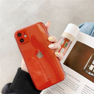 Camera Protection Transparent Phone Case For iPhone 11 11Pro Max XR XS Max X 7 8 Plus