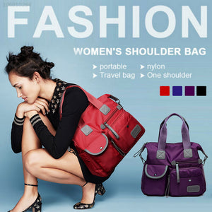 Lammei Outdoor Women Handbag Ladies Fashion Waterproof Oxford Tote Bag