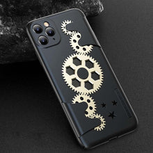 Load image into Gallery viewer, Case for IPhone X XR XS Max Ultra Thin Slim Hard PC Back Cover for IPhone 11 Pro Max Mechanical Gear Shockproof Phone Case Coque
