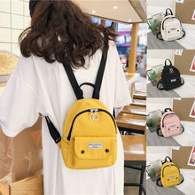 Load image into Gallery viewer, Women Mini Backpacks Nylon Shoulder Teenage Girls Small School Backpacks Casual Travel Rucksack Sac A Dos Femme #H10