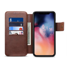 Load image into Gallery viewer, iPhone 11 11Pro 11Pro max mobile wallet 2 in 1 separable iPhone X XS phone case