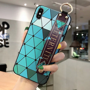 Fabulous phone case For iphone X Xs max XR soft coque funda for iphone 11 pro max Strap case For iphone 7 8 6 6s plus cover