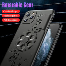 Load image into Gallery viewer, Cool Mecha Style Rotatable Gear Phone Case for IPhone 11 Promax XR for Huawei P30 Mate20 Honor 9XPro,cases with Heat Dissipation