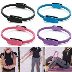 Tools Accessories Gym Pilates Circle Yoga Fitness Magic Ring Muscle Home Sport Resistance Exercise Women Training Workout