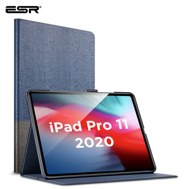 ESR Case for iPad Pro 12.9 Case 2020 Oxford Cloth Back Cover Auto Sleep/Wake up Smart Cover for iPad Pro 2020