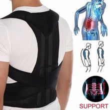 Load image into Gallery viewer, Posture Corrector Back Posture Brace Clavicle Support Stop Slouching and Hunching Adjustable Back Trainer Unisex Back pain