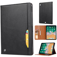 Load image into Gallery viewer, Leather case For iPad Pro 11 inch  For iPad Pro 11 inch including Leather Wallet Card Stand Case