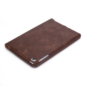 Tablet case For iPad Mini 7.9 inch Slim Shockproof Stand solid color leather Protective Case