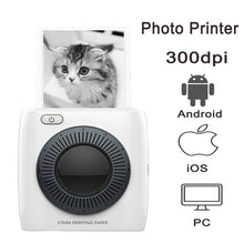 Load image into Gallery viewer, PAPERANG 300DPI Pocket Mini Portable Thermal Printer Bluetooth Photo Picture Printer for Mobile Camera Android iOS Gift P1 P2