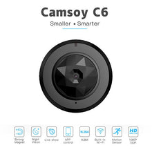 Load image into Gallery viewer, C6 Camsoy Cookycam Micro WIFI Mini smallest Camera HD 720P With Night Vision IP WIFI Cam Home Remote Security Video Camcorder
