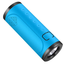 Load image into Gallery viewer, 12W Portable Outdoor Bluetooth Speaker 5000mAH Power Bank Waterproof