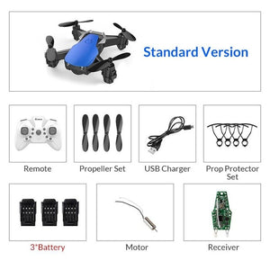 WiFi FPV With HD Camera Altitude Hight Hold Mode Foldable RC Drone