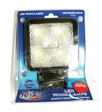 RKS 10-30V 24W SQUARE FLOOD BEAM LED WORKLIGHT - G&C Communications
