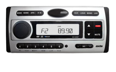 Axis MA1205BT DVD/CD/USB Player with AM/FM Receiver - G&C Communications