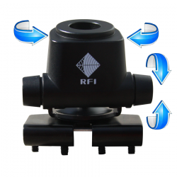 RFI BK-900 Adjustable Bonnet / Boot Mount Bracket - G&C Communications