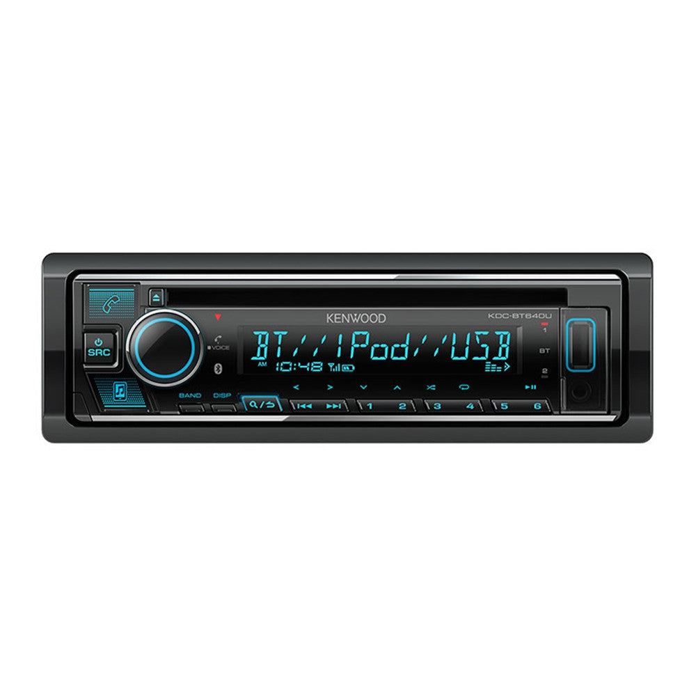 Kenwood KDC-BT640U Single DIN Bluetooth USB / CD Receiver - G&C Communications