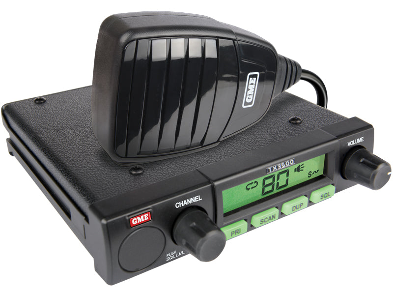 GME TX3500S DSP Compact UHF radio with ScanSuite - G&C Communications